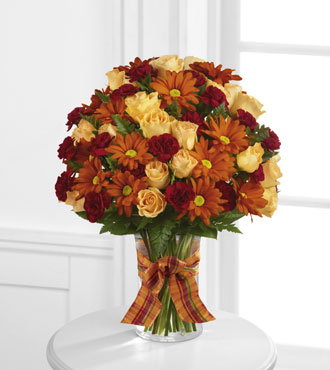 FTD® Golden Autumn™ Bouquet - Greatest