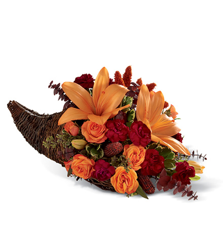 FTD® Harvest Home™ Cornucopia Arrangement