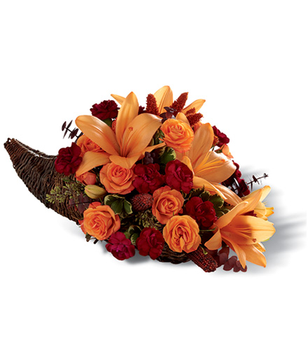 FTD® Harvest Home™ Cornucopia Arrangement - Greater