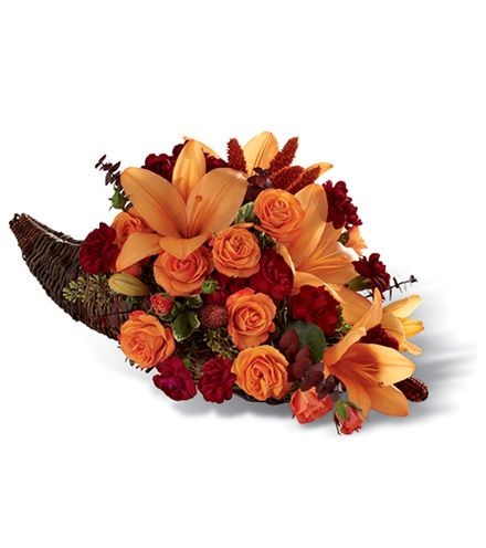 FTD® Harvest Home™ Cornucopia Arrangement - Greatest