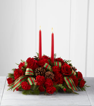 FTD® Holiday Classics™ Centerpiece by Better Homes and Gardens® - Greater