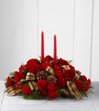FTD® Holiday Classics™ Centerpiece by Better Homes and Gardens® - Greatest