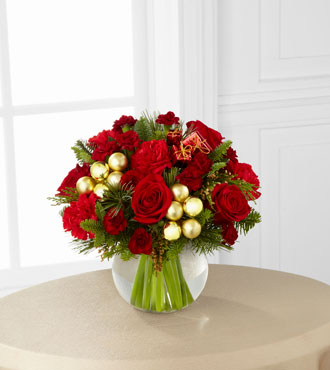 FTD® Holiday Gold™ Bouquet - Greater