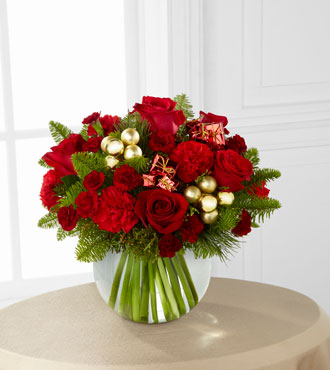 FTD® Holiday Gold™ Bouquet - Greatest