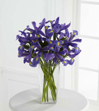 FTD® Iris Riches™ Bouquet From  $77