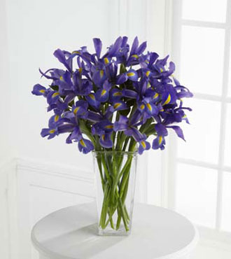 FTD® Iris Riches™ Bouquet - Greater