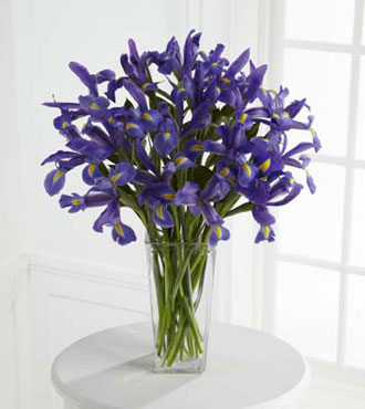 FTD® Iris Riches™ Bouquet - Greatest
