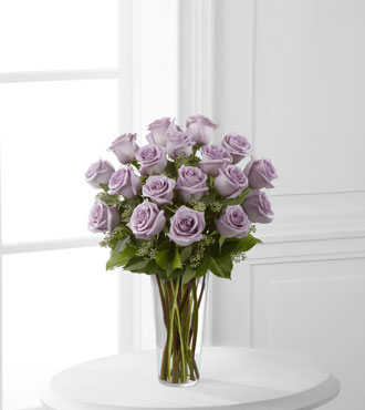 FTD® 18 Lavender Rose Bouquet