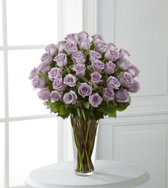 FTD® 36 Lavender Rose Bouquet