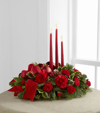 FTD® Lights of Season™ Centerpiece