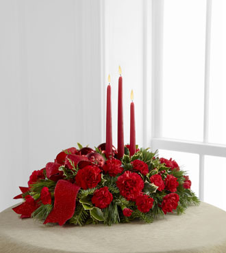 FTD® Lights of Season™ Centerpiece - Greater