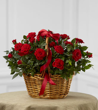 FTD® Mini Rose Basket