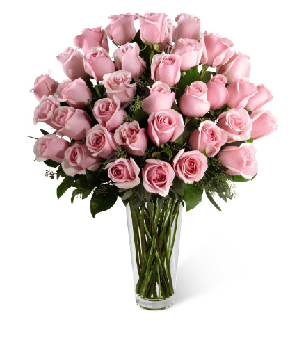 FTD® 36 Pink Rose Bouquet - Exquisite