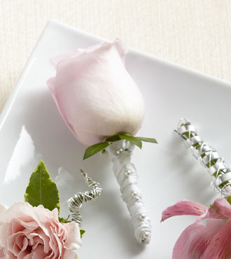 FTD® Pink Rose Boutonniere