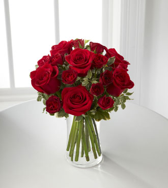 FTD® Red Romance™ Rose Bouquet From  $85