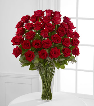 FTD® 36 Red Rose Bouquet - Exquisite