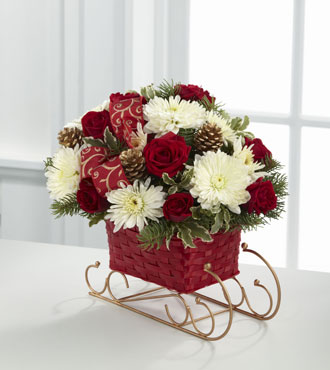 FTD® Season's Sleigh Ride™ Bouquet