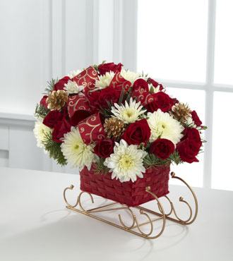 FTD® Season's Sleigh Ride™ Bouquet - Greater