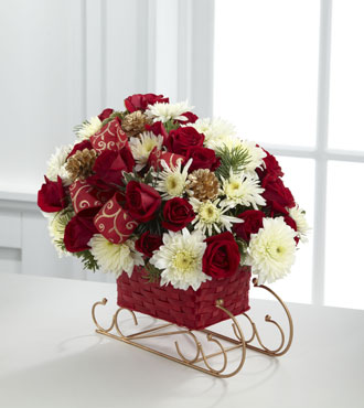 FTD® Season's Sleigh Ride™ Bouquet - Greatest
