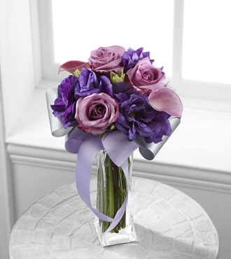 FTD® Shades of Purple™ Bouquet