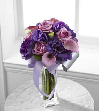 FTD® Shades of Purple™ Bouquet - Greater