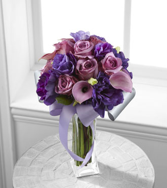 FTD® Shades of Purple™ Bouquet - Greatest
