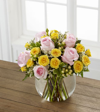 FTD® Soft Serenade™ Rose Bouquet