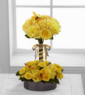 FTD® Sun Blushed™ Rose Bouquet