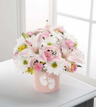 FTD® Sweet Dreams® Bouquet - Girl - Greater