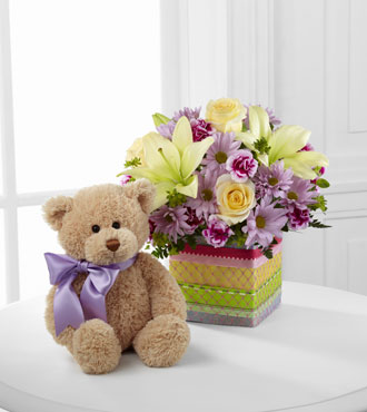 FTD® Welcome™ Bear Bouquet From  $100