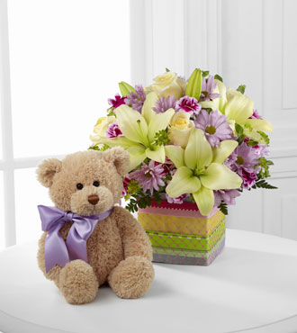 FTD® Welcome™ Bear Bouquet - Greater