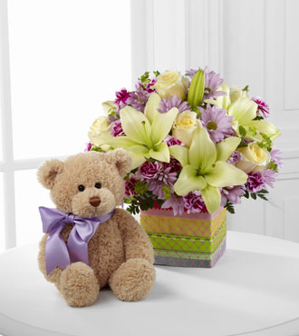 FTD® Welcome™ Bear Bouquet - Greatest
