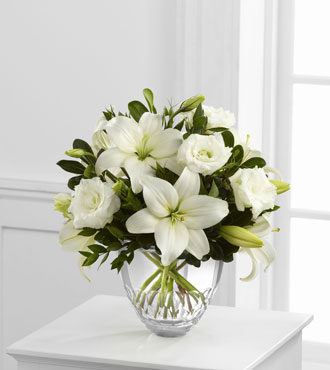 FTD® White Elegance™ Bouquet by Vera Wang
