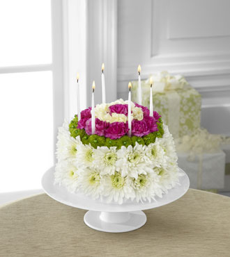 FTD® Wonderful Wishes™ Floral Cake