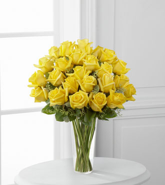 FTD® 24 Yellow Rose Bouquet From  $120