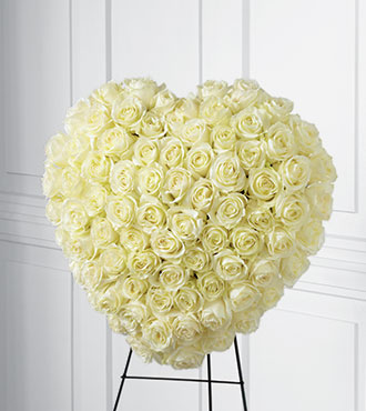 FTD® Elegant Remembrance™ Standing Heart