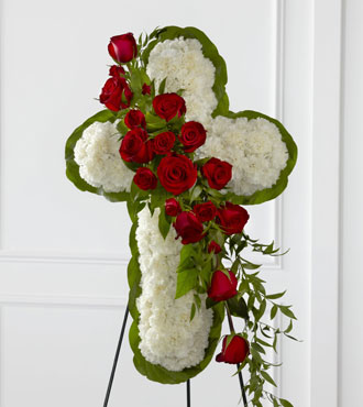 FTD® Floral Cross Easel From  $310