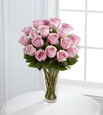 FTD® 18 Pink Rose Bouquet From  $100