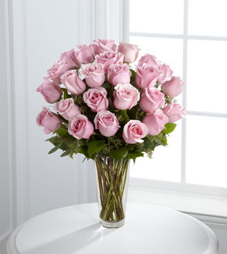 FTD® 24 Pink Rose Bouquet