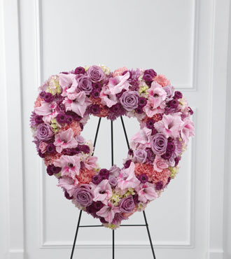 FTD® Eternal Rest™ Standing Heart