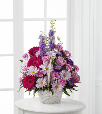 FTD® Pastel Peace™ Basket - Great