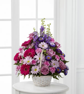 FTD® Pastel Peace™ Basket - Greater