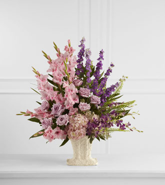 FTD® Flowing Garden™ Arrangement