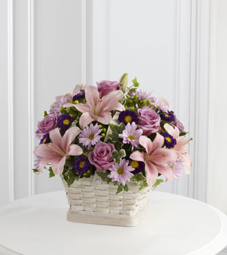 FTD® Loving Sympathy™ Basket From  $110