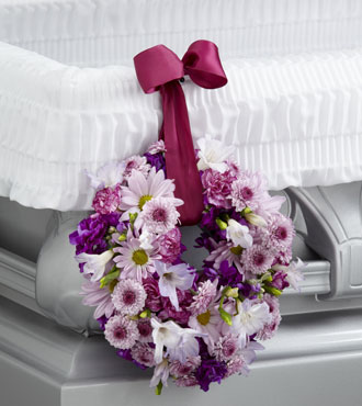 FTD® Thoughts & Prayers™ Wreath Adornment