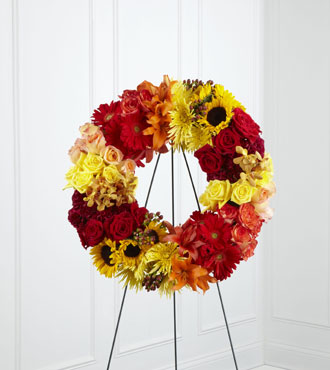 FTD® Rural Beauty™ Wreath