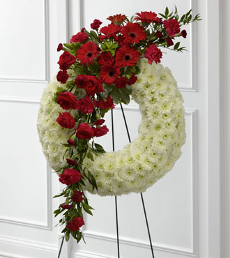 FTD® Graceful Tribute™ Wreath