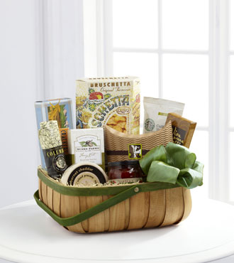 FTD® Heartfelt Sympathies™ Gourmet Basket From  $100