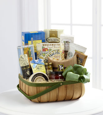 FTD® Heartfelt Sympathies™ Gourmet Basket - Greater