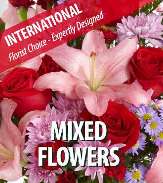 Florist Designed Bouquet - International